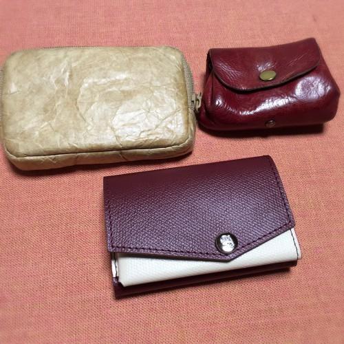 小さい財布 カード入れなど