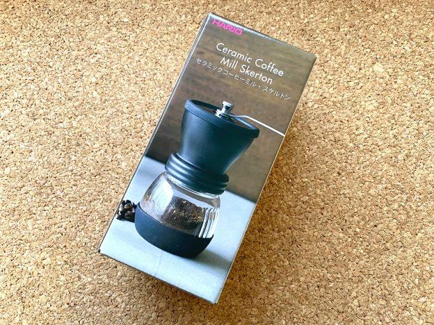 コーヒーミル 箱