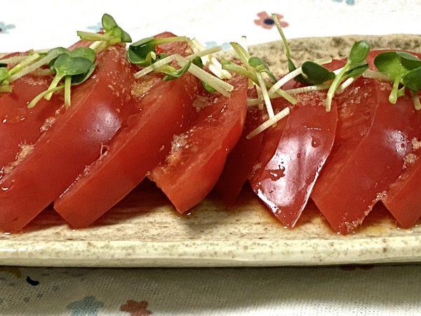 冷製トマト 映え写真
