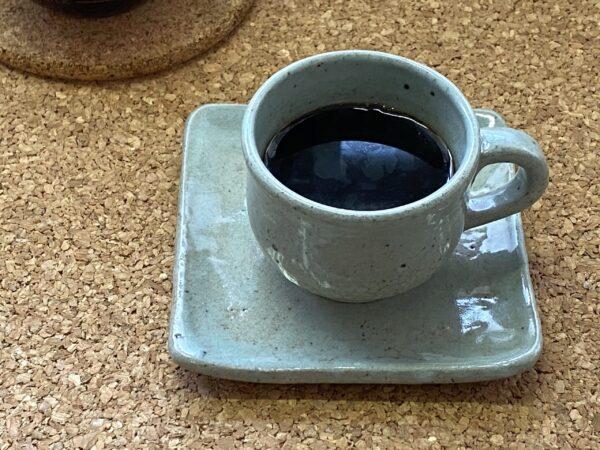コーヒー淹れました