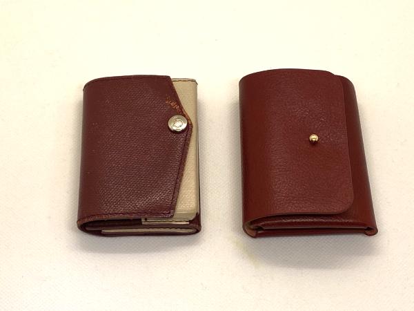 小さい財布と比べる