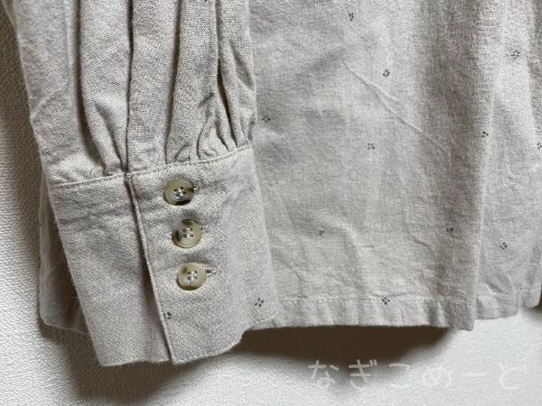 ブラウス袖
